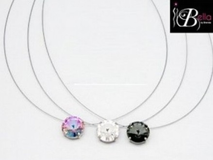 Get a Unique Floating Swarovski Crystal Pendant from Bella Costume Jewellery for only R200, valued at R410 (52% off). Nationwide Delivery Included