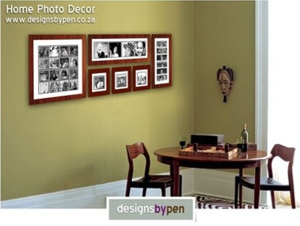 Pay R1450 for a Photo Wall Consisting of 6 Custom-Made Frames With up to 29 Retouched Photos PLUS a R600 Voucher Towards your Next Purchase, valued at R3600 (60% off) from DesignsByPen. Nationwide Delivery Included