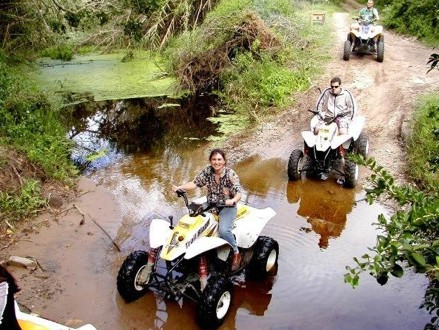 Enjoy The Great Outdoors! Pay R240 for a 2 Hour Guided Quad Biking Adventure in the Vredefort Dome, valued at R480 With Earth Adventures (50% off)