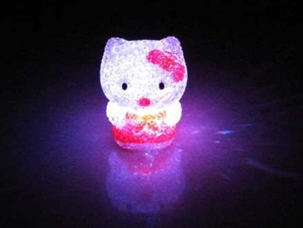 The Most Adorable Night Lights Around! Pay R199 for 2 Hello Kitty 7 Colour Crystal LED Night Lights, valued at R400 (50% off). Nationwide Delivery Included