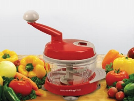 Pay R259 for a Dessini Manual Food Processor, valued at R499 (% off). Nationwide Delivery Included