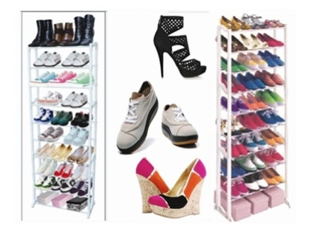 Get Those Shoes Organized! Pay R199 for a Stainless Steel Shoe Rack, valued at R399. Nationwide Delivery Included