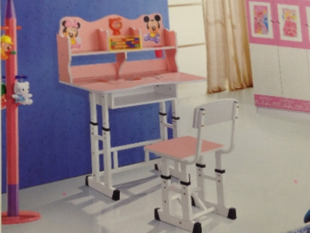 Pay R559 for a Kiddies Themed Desk and Chair Set, valued at R999. Nationwide Delivery Included