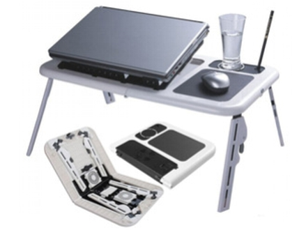 Pay R235 for a Portable, Foldable Laptop Table Stand for Laptop or Tablet, valued at R499. Nationwide Delivery Included