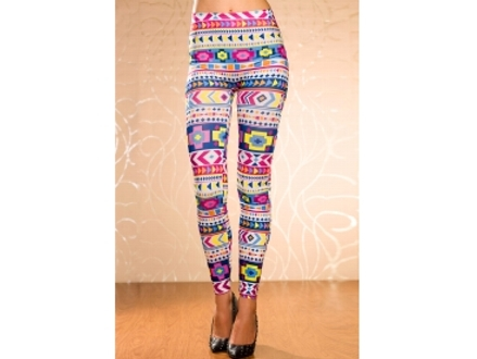 Pay only R259 with these Super Cool, Retro Pattern Leggings, including National Delivery (worth R518)
