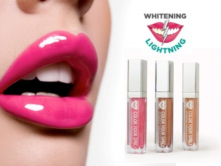 Couture for your lips! Pay R259 for the Color Your Smile Lighted Lip Plumping Gloss Trio, Complete with a Handy Mirror and Built in LED Light, valued at R899 from Whitening Lightening (71% off). Nationwide Delivery Included
