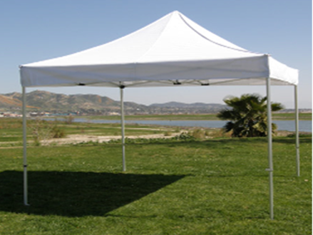 Pay R1049 for a 3m x 3m White Gazebo, including National Delivery (worth R1999)