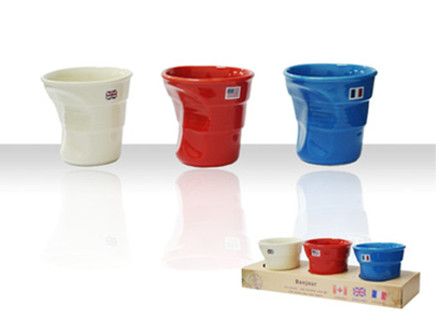 Pay R189 for 3 Bonjour Cups, including National Delivery (worth R379)