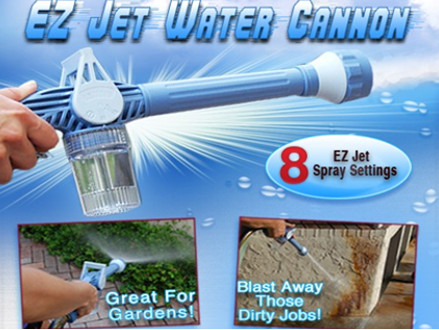 Pay only R179 for a EZ Jet Water Cannon, including National Delivery (worth R359)