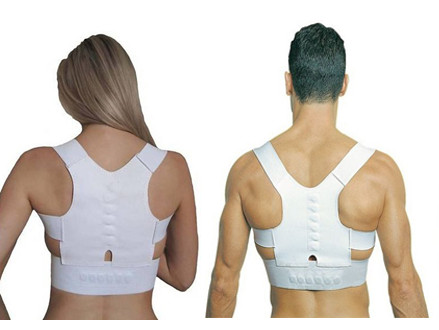 Pay R110 for a Magnetic Back & Shoulder Support UniSex Posture One size, including National Delivery (worth R220)