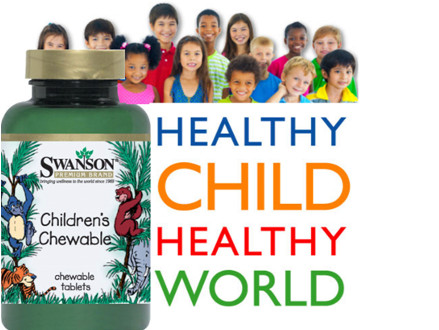 Pay R290 for 4 Month's supply of Children's Chewable Multi-Vitamins, including delivery (Value R599)
