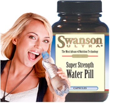 Pay R245 for 1 month's supply of Super Strength Water Pills, including National Delivery (worth R499)
