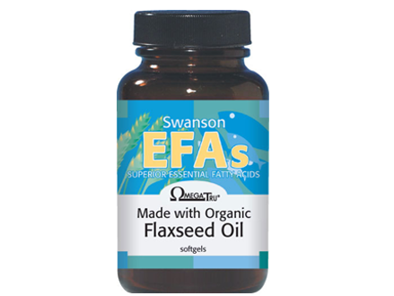Pay R269 for 100 Soft gel Flaxseed Oil Capsules (OmegaTru-100mg), including National Delivery (worth R499)