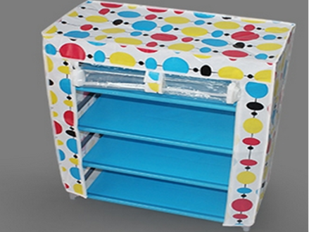 Pay R249 for a Covered 4 or 5 Tier Shoe-rack, including National Delivery (worth R399)