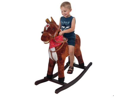 Pay R549 for a Beautiful Children's Rocking horse in Light or Dark Brown, including National Delivery (worth R999)