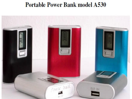 Pay R299 for a 5200mAh Power Bank with LCD Power Level Indicator Choose between 2 styles with various colours, including National Delivery (worth R598)