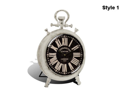 Pay R249 for a Stunning Table Clock Choose between 2 Different Styles, including National Delivery (worth R500)
