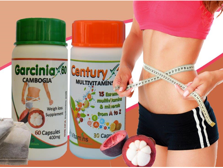 Pay R349 for a SA Vitamins Slimming Combo Includes Nationwide Delivery Via Courier, Valued @ R699