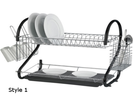 Pay R279 instead of R559 for a 2 Tier Couloured Dish Rack Includes National Delivery Via Courier (worth R599)