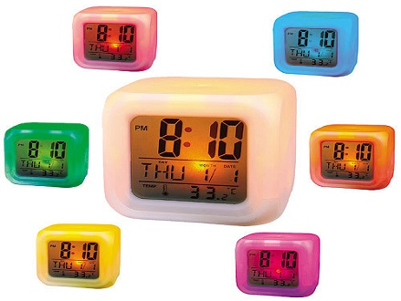 Pay R115 for a Color Mood Care Clock, valued @ R230.00. Includes national delivery via courier.