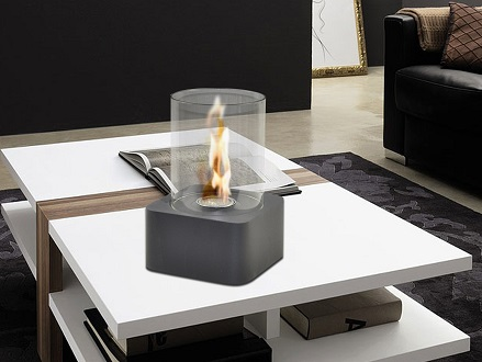 Pay R299 for a Fine Living Round Bio-Ethanol Heater Including National Delivery Valued R499