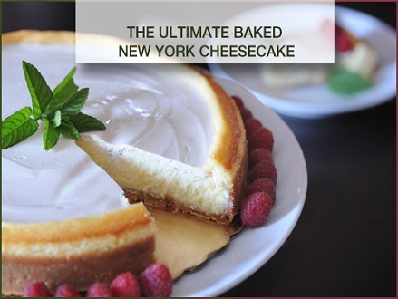Pay R169 and Learn How To Make The Ultimate New York Baked Cheesecake via An Online Course from Blue Mountain Training Valued At R922