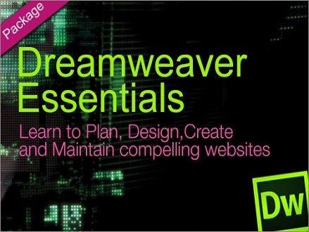 Pay R549 and Learn to Plan, Design, Create and Maintain compelling Websites with a Dreamweaver Essential Package Online Course from Valued at R8282 Blue Mountain Training
