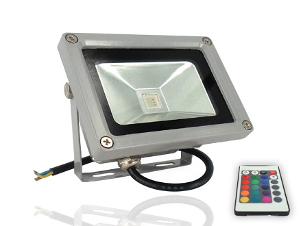 Pay R369 for a Remote Control 10W RGB Waterproof LED Flood Light (16 Different Color Tones), Valued at R739 Including National Delivery