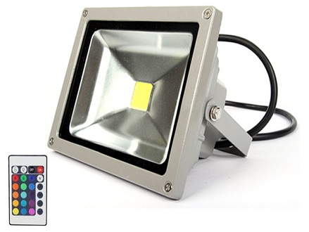 Pay R649 for a Remote Control 10W RGB Waterproof LED Flood Light (16 Different Color Tones), Valued at R1299 Including National Delivery