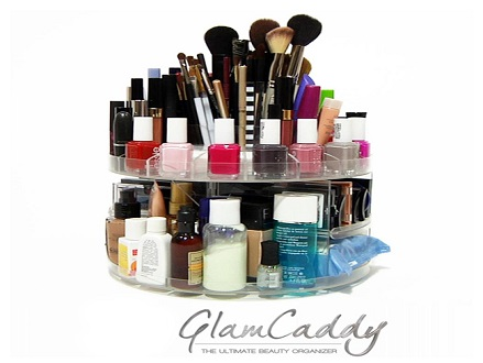 Pay R229 For A Glam Caddy, the Ultimate Rotating Cosmetic and Beauty Organizer Valued At R459 Including National Delivery