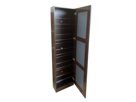 Pay R1799 for a FULL MIRRORED SHOE STORAGE CABINET Available in Brown Only Including National Delivery Valued R3598