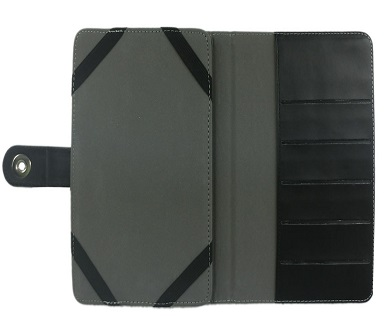 Pay R139 for a 9 INCH TABLET PC LEATHER CASE in Black or White including National Delivery. Valued at R279.