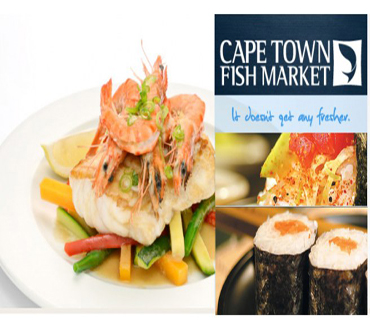 Pay R100 And Get 37 Discount Vouchers All Offering Various Discounts From Cape Town Fish Market, Lonehill. All Valued At More Than R3000.