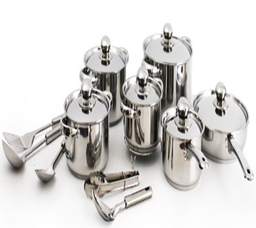 Pay R659 For A Stainless Steel 18 Piece Dolphin Pot Set Including National Delivery Valued At R1299