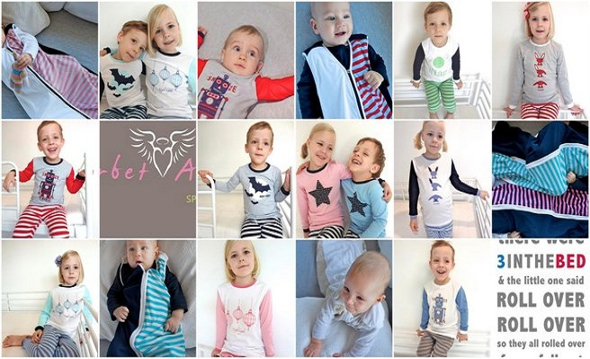 There was 3intheBed and then the price rolled over by 25%! Luxurious Kids winter PJs, sleeping bags & sheets, so soft, warm & cuddly!