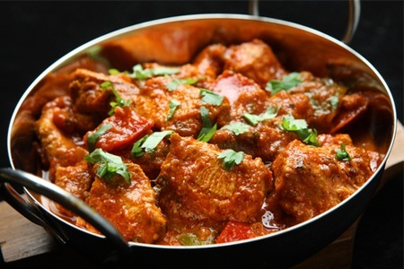 Save up to 54% on a chicken or lamb curry for up to six people at The Blue Orange Restaurant