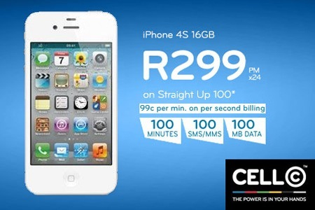 Car Town Iphone >> DealZone | 50% discount deal in South Africa - Cell C contract: Qualify for a Straight Up 100 ...