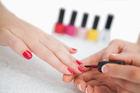 Manicure and Pedicure with Gel Polish at Royal Image Pampering House