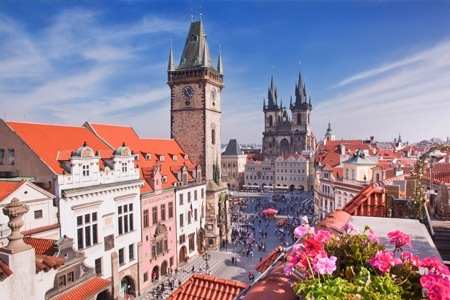 International Travel: 7-Day Tour to Budapest, Vienna and Prague per person sharing with Charming Asia Tours
