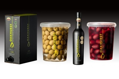 Oakhurst Olives and Extra Virgin Olive Oil, Including delivery