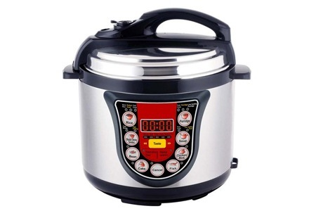 Accessories: Live Healthy with an Electronic Digital Pressure Cooker, Including Delivery
