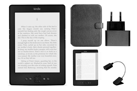 Kindle Wi-Fi and Accessories, Including Delivery