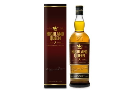 Highland Queen Eight Year Old Scotch Whiskey, Including Delivery