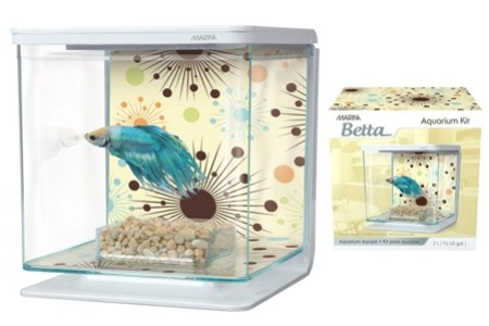 Marina Betta Kits Home Aquarium, Including Delivery