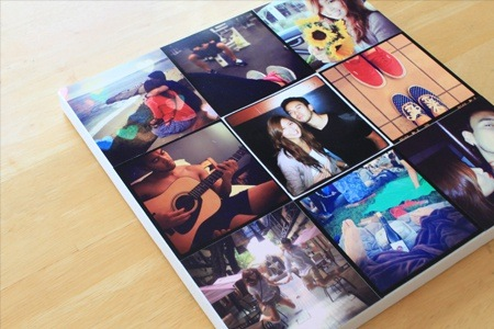 300mm x 300mm Personalised Canvas Prints from Printstagram
