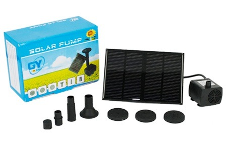 Solar Powered Water Pump for R349.99, Including Delivery (50% off)