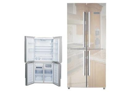 Sunbeam Four-Door Mirror Fridge / Freezer for R9 499 Including Delivery (27% Off)
