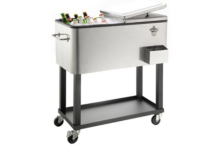 80L Goldair Patio Ice Cooler with Wheels for R1 499, Including Delivery (40% Off)