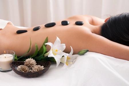 Hot Stone Aromatherapy Massage with a Pedicure at Zen Bali