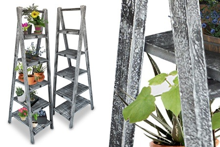 Wooden Ladder Display Shelf for R949.99, Including Delivery (50% Off)